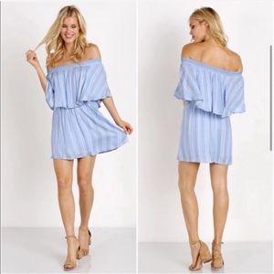 Show Me Your Mumu Casita Sidewalk Stripe Dress